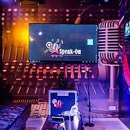 speak - on חדרי קריוקי