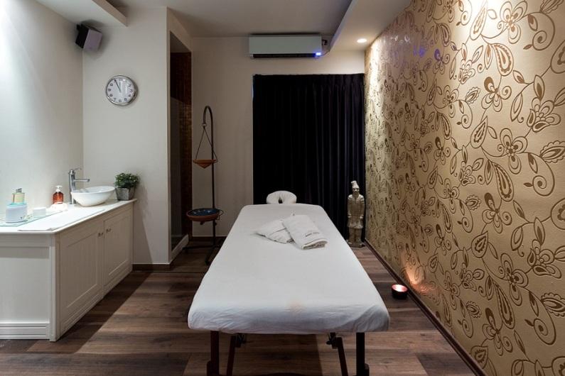 חדר טיפולים - וילה אחוזת הספא