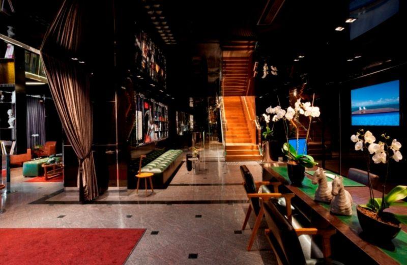 הלובי במלון - ספא אלכסנדר