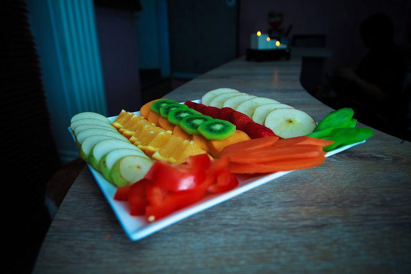 סי אנד ספא - פלטת פירות וירקות