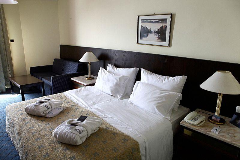 חדר במלון - ספא חמת קיסר